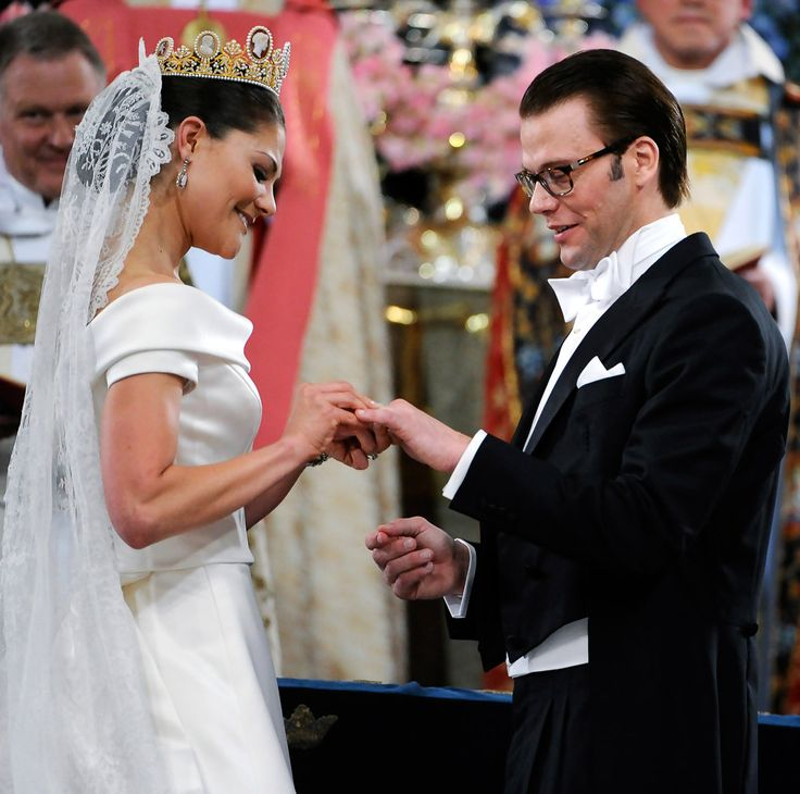 Princess Victoria Wedding Of Swedish Crown Daniel Westling Ceremony