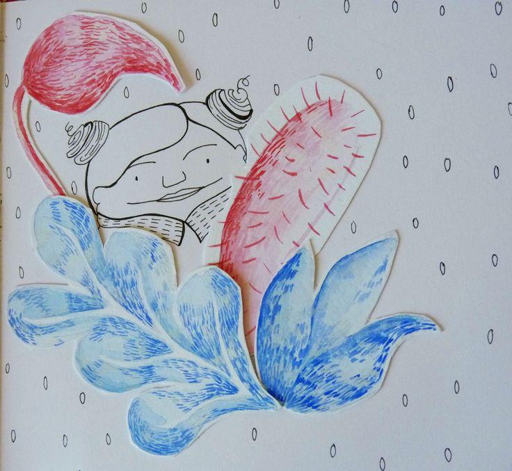 Sketchbook. Maria Velat.