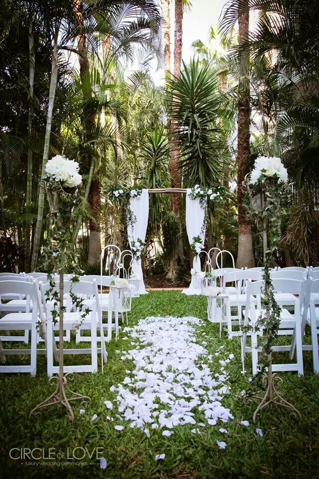 16 best ceremony venues for gold coast wedding for Garden design ideas gold coast
