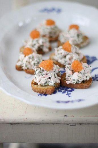 Små Skagen Toast av Leila Lindholm