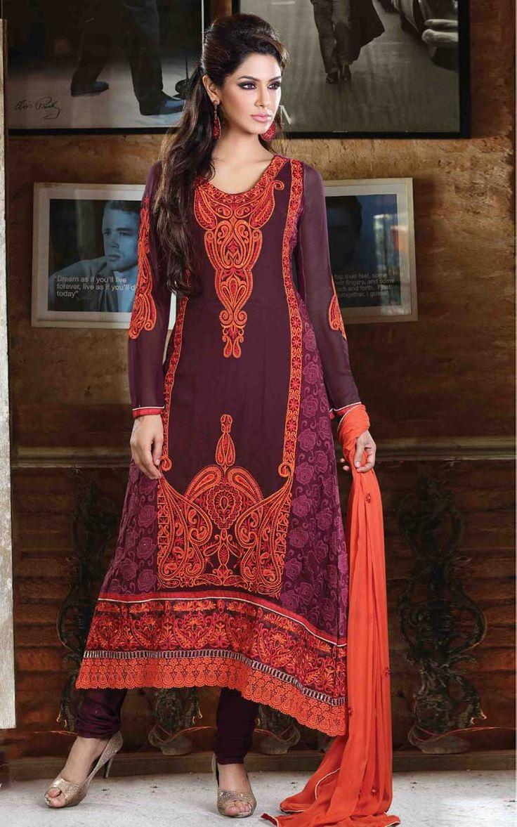 #Red #Pakistani #Suit.  http://www.shaadi.org.pk/