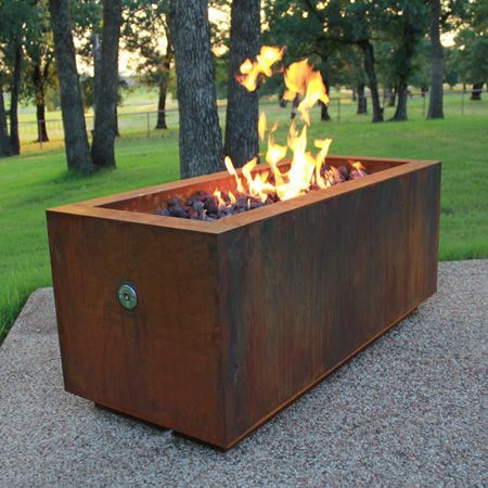 Fire Pits   Great For Fall And Winter   Modern   Firepits   AuthenTEAK  Outdoor Living