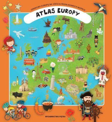 Atlas Europy Dla Dzieci - Ceny i opinie - Ceneo.pl