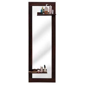 Damara Mirror with Shelves