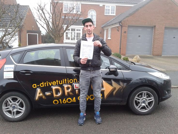 """Congratulations to Simon Morton who passed his driving test 1st time 25/11 with only 2 minor driving faults at Northampton Driving Test Centre with Aidan Checketts of www.adrivetuition.co.uk  01604 930031  #Driving #DrivingTest #DrivingSchools #DrivingLessons #DrivingInstructors #Northampton  Simon said """"I found it hard to find an instructor who matched my personality but when I came to A Drive I felt comfortable with my instructor and passed my practical first time round. Big thanks to…"""