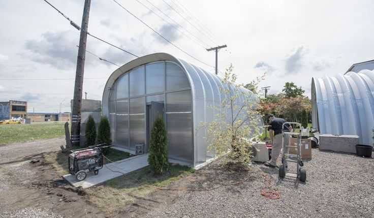 Image result for architects use of quonset buildings for Quonset hut
