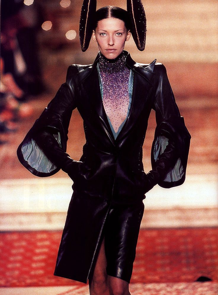Givenchy by Alexander McQueen Fall 1997 Haute Couture