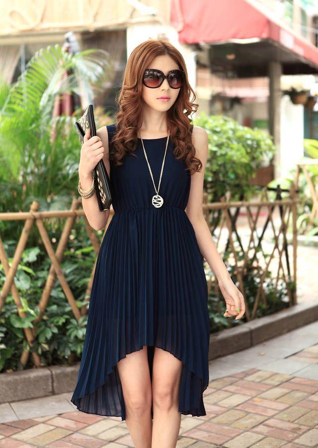nova 2014 senhoras longo inverno chiffon sexy maxi moda vestido longo plissado irregular marca casual vestido de verão vestidos para mulhere...
