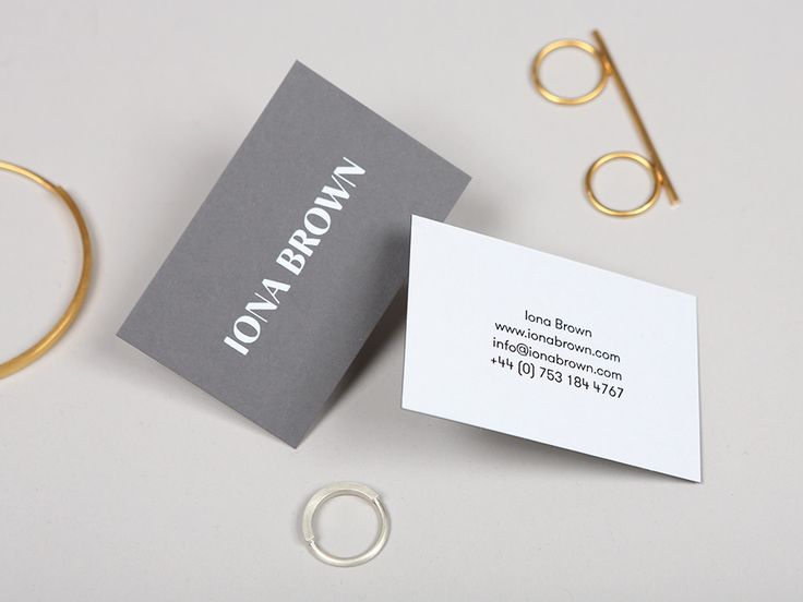 45 best duplex business cards images on pinterest brand identity logotype and business card with white foil detail for contemporary jewellery designer iona brown reheart Choice Image
