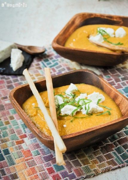 Crema de lentejas y boniatos al curry | L'Exquisit