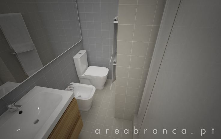 WC Suite - Depois #areabranca #decoraçãointeriores #designinteriores #interiordesign #wcsuite