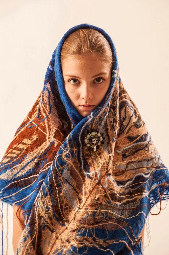 Yaga handmade shawl by Yaga on Etsy, $140.00