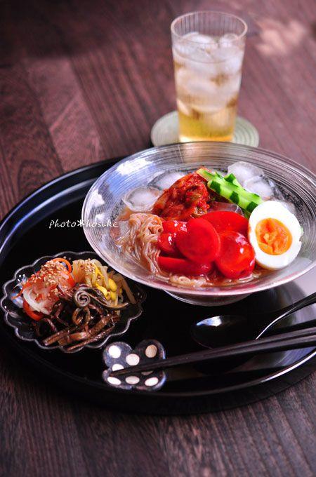 「コチュトマ冷麺」 #花ヲツマミニ