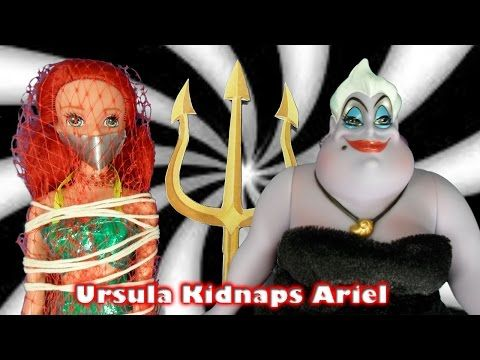 Ariel is Kidnapped - Part 1 - Elsa the Mermaid Series - Frozen Littlest Mermaid Funny Video | Disney - YouTube