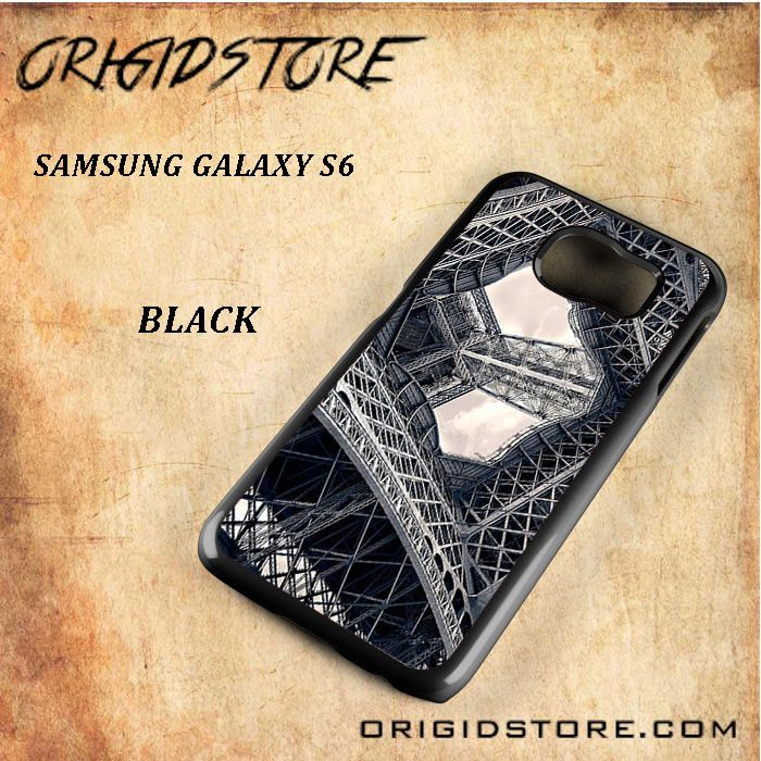 Eiffel Steel Black White Snap On Or 3D For Samsung Galaxy S6