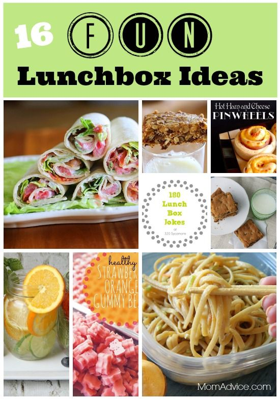 16 fun lunchbox ideas