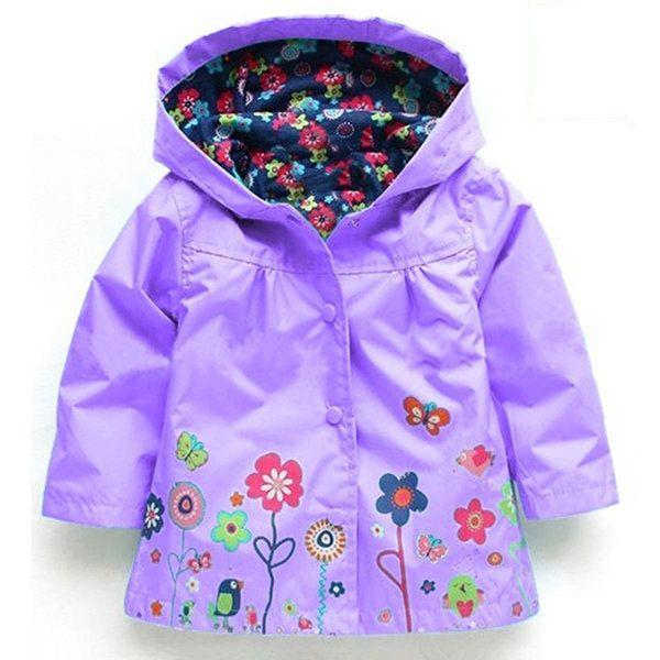 Waterproof Trench Coat For Boys Girls Jacket Windbreaker Kids Raincoat Outdoor Wear Children Clothes On Sale - NewChic