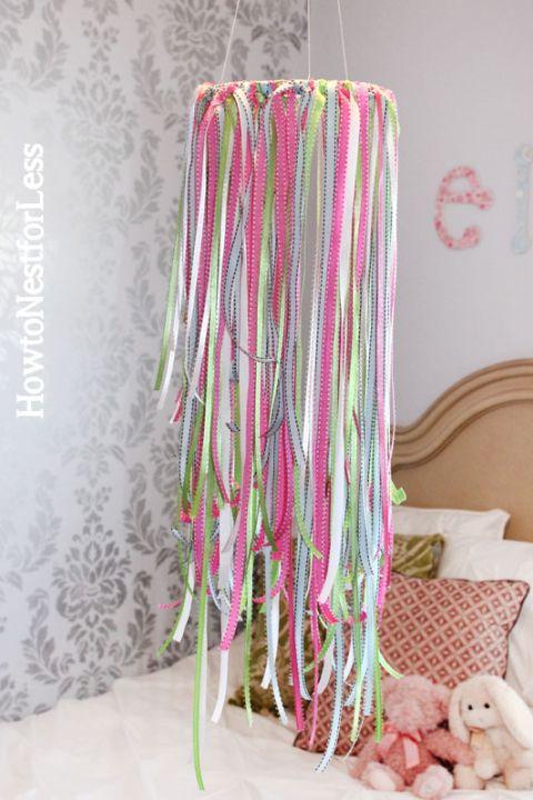 girlie ribbon mobile