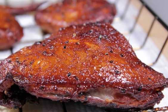 Incredible Beer Brined Smoked Chicken
