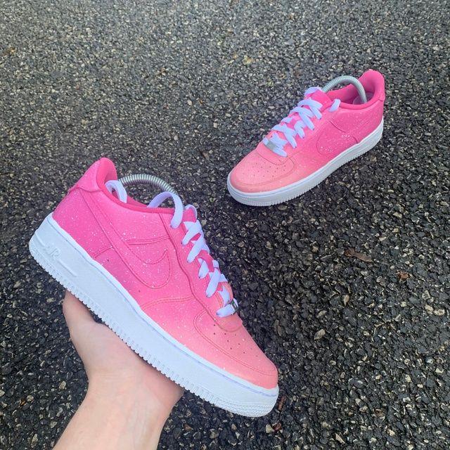 Nike AF1 Pink Dreams in 2020 Estetiske sko, Custom  Aesthetic shoes, Custom