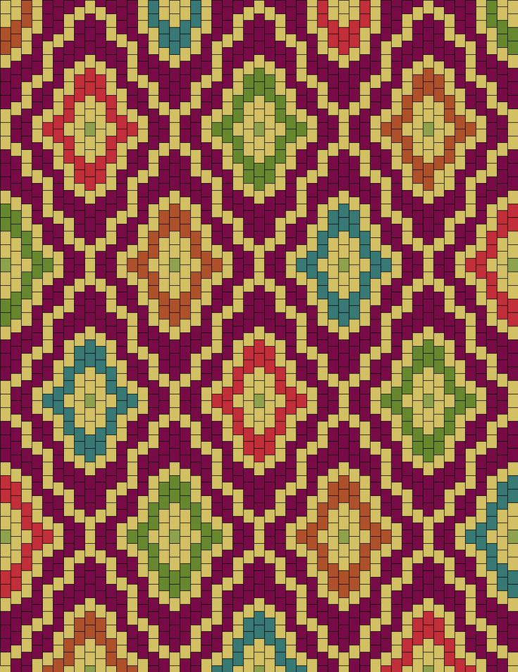I can see this translated into a simple bargello quilt pattern...