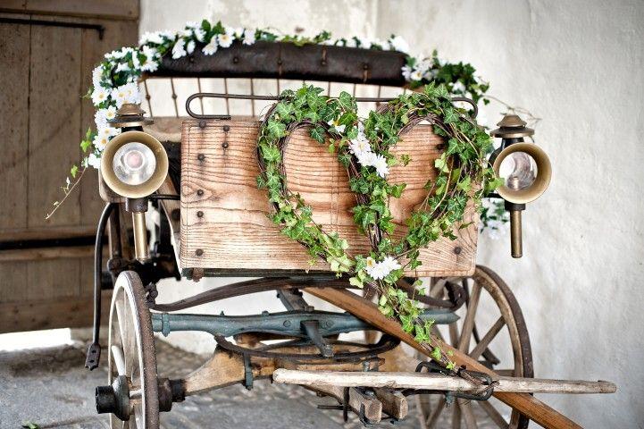 Hochzeitskutsche bzw. Bollerwagen