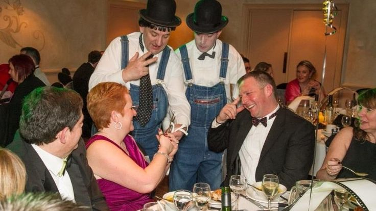 We are ideal at breaking the ice amongst your guests.  We provide amazing photo opportunities as people react to our close-up magic.