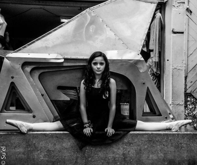 Joana Mariel Madris mostrando su belleza y fortaleza