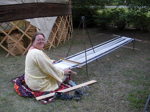 Nomadic Looms for the SCA: Simple, low cost, historical weaving | Adventures in Wool Addiction