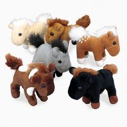 Horse Party Supplies, Plush Horses, Horse Stuffed Animals