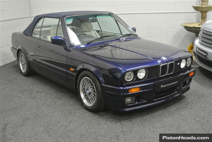 Used 1991 BMW E30 3 Series [82-94] 325I CONVT for sale in Manchester from Bespoke Sales Intermarque.