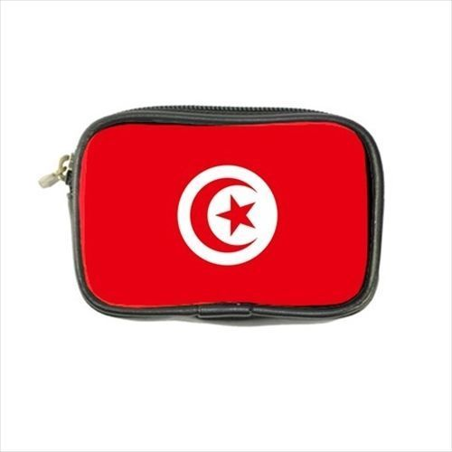 12.54$  Watch now - http://viqzq.justgood.pw/vig/item.php?t=s4dmmsl2291 - Tunisia Flag Leather Coin Purse
