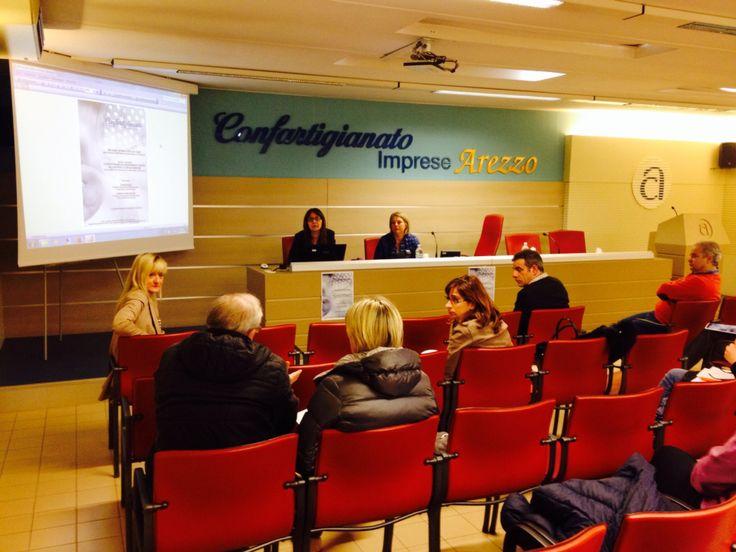 La relazione di Manuela Boncompagni durante il Seminario