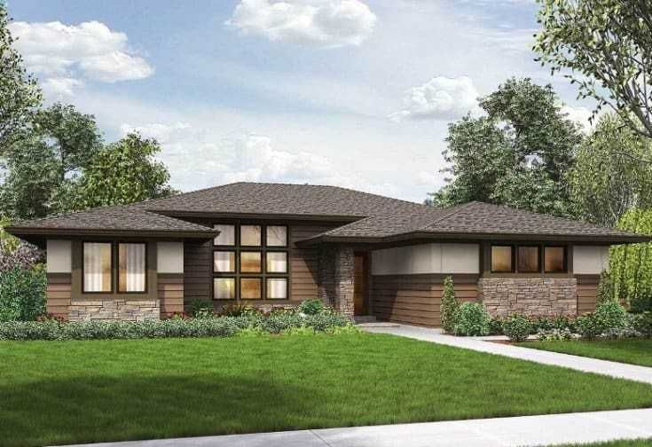 10 Modern Contemporary Ranch House Ideas Ranch House Designs Ranch House Plans Modern Ranch