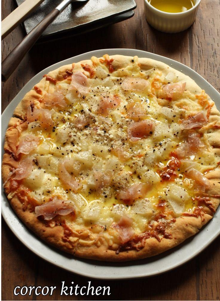 ブラックペッパー利いた梨と生ハムのピザ by 伊藤協子 | レシピサイト「Nadia | ナディア」プロの料理を無料で検索