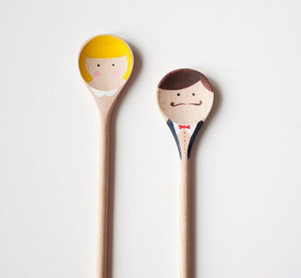 Bid your loved ones adieu with these adorable wooden spoon wedding favors