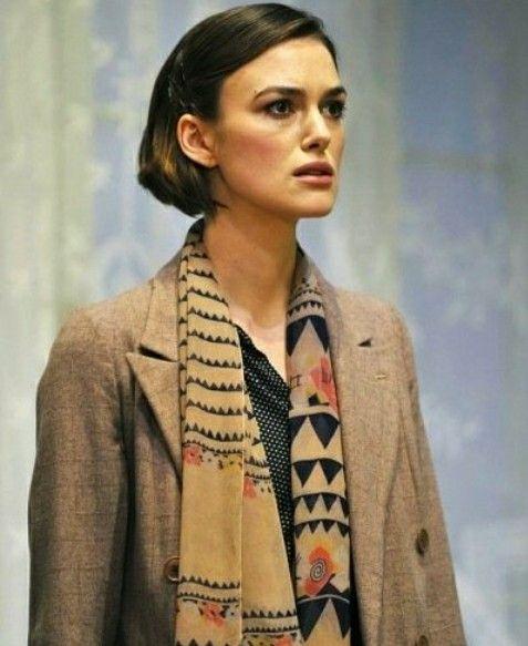 Mooie kleurencombinatie die door de shawl versterkt wordt