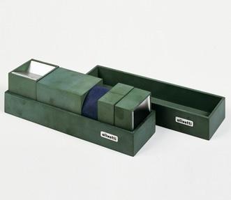 set da ufficio tipologia: accessori designer: Bruno Munari azienda: Olivetti anno di progettazione: 1960  Triennale Design Museum, Collezione Alessandro Pedretti