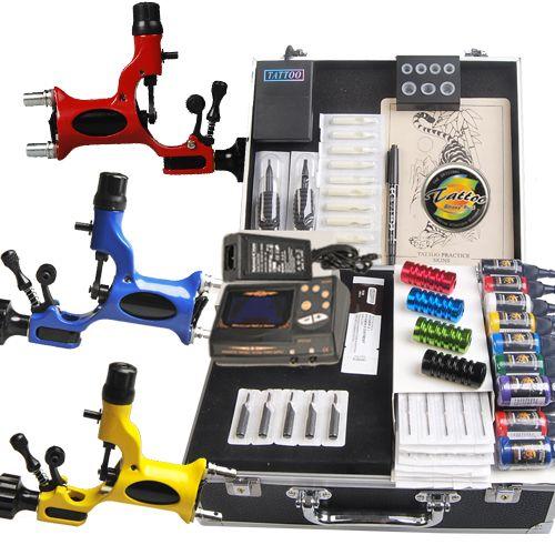 Great Tattoo Kits 3 Rotary Machine New Design Power box and tatt [DIY-227(4.5)] - US$135.95 : Dragonhawk tattoo supplies, tattoo kits,tattoo machines for sale global form tattoodiy.com