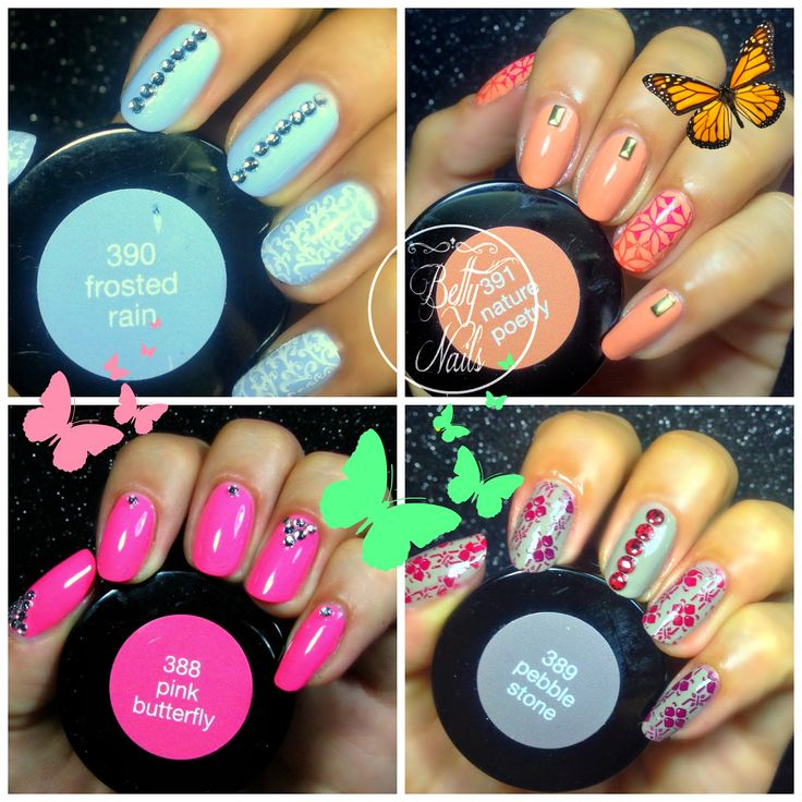 Betty Nails: LCN Nature's Poetry [Swatches]