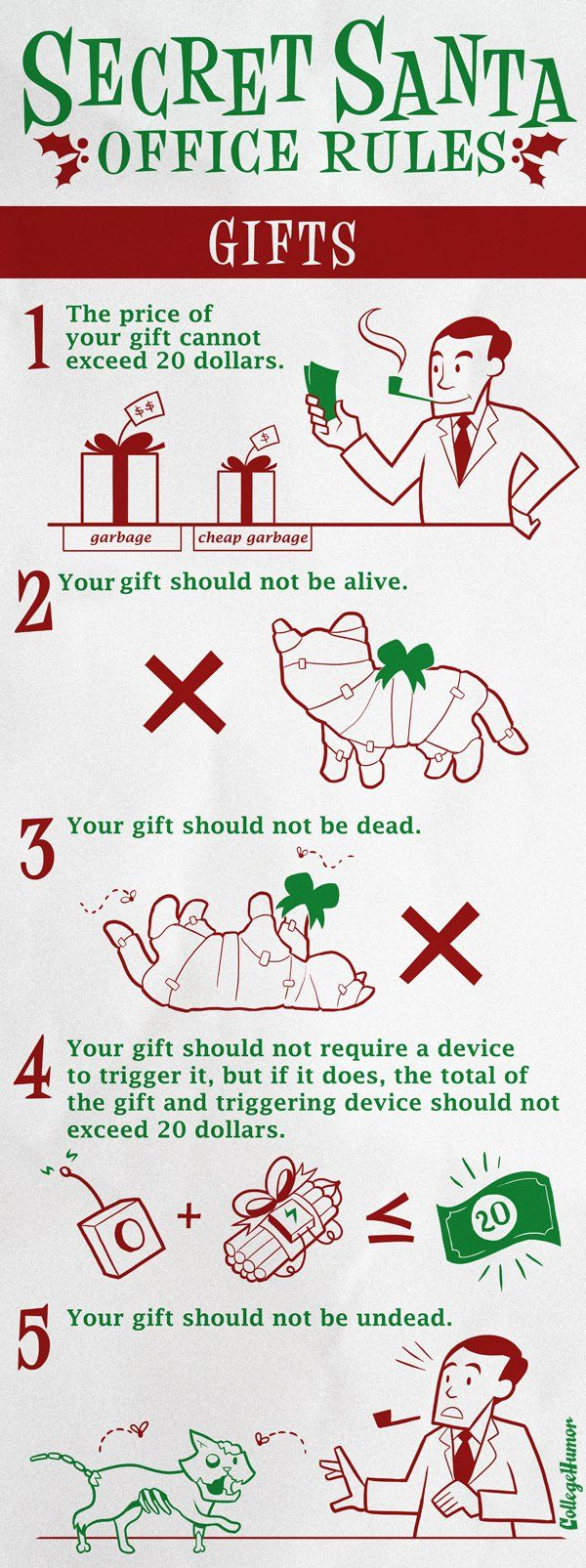 Secret Santa Rules a Year After the Worst Secret Santa Ever - CollegeHumor Post
