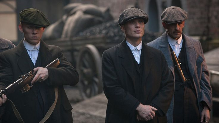 The Shelby Brothers and the Peaky Blinders  TV: Peaky Blinders (2014-present)  Costumes by Stephanie Collie