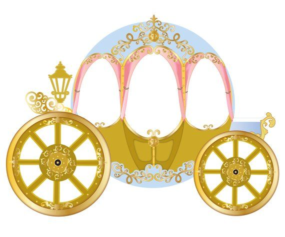 Giant Princess Carriage Photo Booth Backdrop Printable Etsy Princess Carriage Princess Photo Booth Booth Backdrops