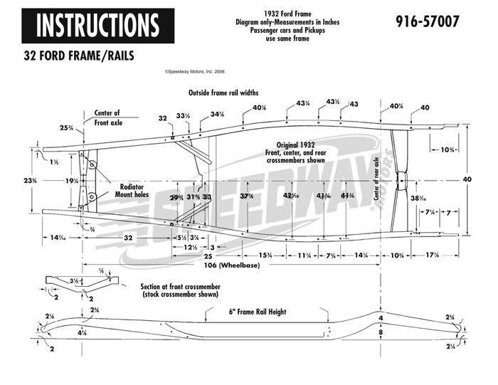 A E E D E C Cc D D Rat Rods Ford on Ford Body Fender Parts Diagram