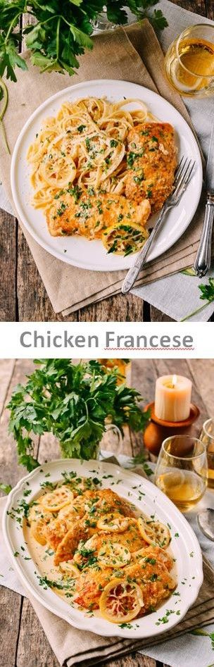 #Chicken #Francese recipe by the Woks of Life