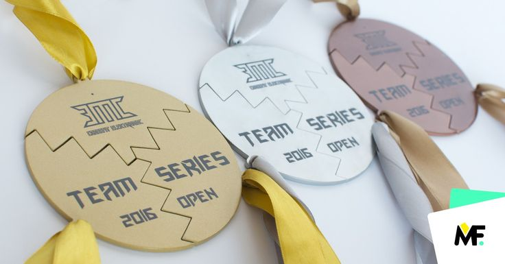 Multielements medals of an interesting graphic shape that forms the circle.   #medals #souvenirs #awards   socialhub.modernforms.pl