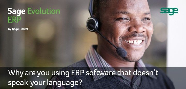 Does your software solution speak your language? #sage #sageevo
