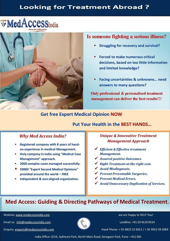 Med Access India Offers Best #Medical #Treatment In India http://medaccessindia.com/