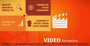 Concept of Explainer Video making is based on highlighting or we can say promoting your business worldwide through videos and is being used by plenty of top firms nowaday.For more visit our webpage # http://completionwebstudios.com/whiteboard-videos/