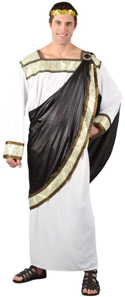 Greek God Roman Emperor Men's Fancy Dress Grecian Adult Toga Outfit Costume New   eBay
